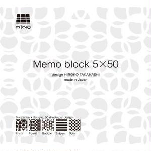 MINOK29 The 5x50 Memo Block S