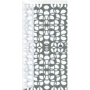 MINOK27 Greeting Card M Prism Light Grey