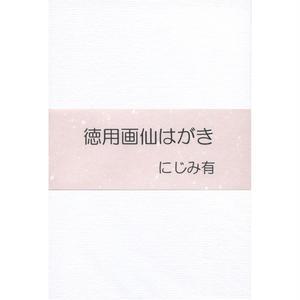 HT01 徳用画仙はがき にじみ有 100枚