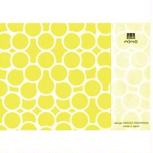 MINOK61 Printed envelope S Yellow