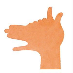 KMF101 Hand Shadows Card The Dog
