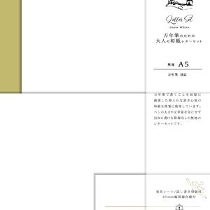 STJL0138 A5レターセット Snow White