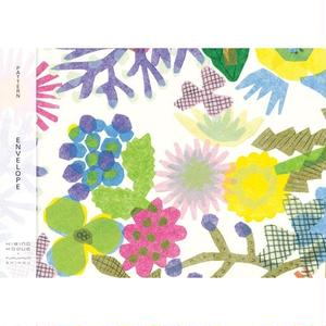 POL111 PATTERN ENVELOPE FLOWERS