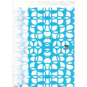 MINOK25 Greeting Card S Prism Aqua Green