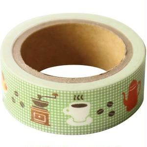 QMT20 そえぶみ箋 ますきんぐテープ コーヒー