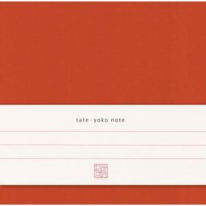 KAF003 tate. yoko note 紅葉