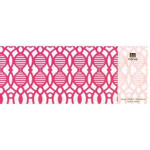 MINOK64 Printed envelope M Pink