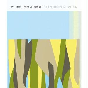 POL065  PATTERN MINI LETTER SET 野の花