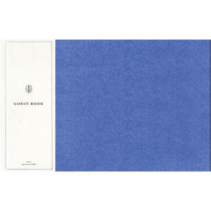 STJN0024 GUEST BOOK blue