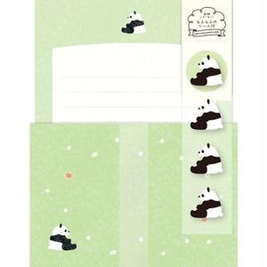 LLL236 動物レターセット パンダさん