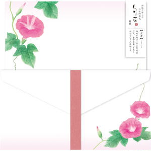 LLL303旬花 レターセット 朝顔