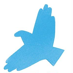 KMF105 Hand Shadows Card Birds