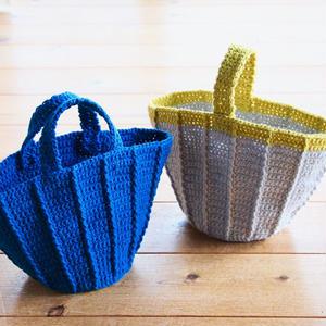 【受付中】ワークショップ@yamagiwa金沢(4/15)「かぎ針編みのマルシェバッグ」お申し込み