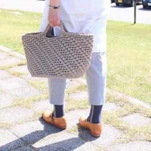 【終了】ワークショップ@東京fukuya(8/11,8/12)「フィンランドの糸で編む大きなバスケット」お申し込み