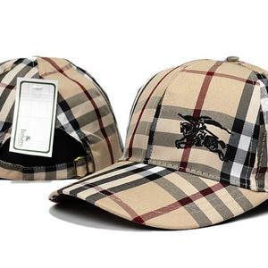 人気の新着商品 burberry バーバリー 刺繍キャップ  帽子 男女兼用 日焼け止め  チェック