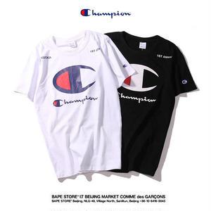 CHAMPION チャンピオン Tシャツ 半袖テイーシャツ 男女兼可 カップル 大人気