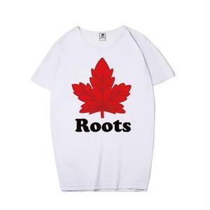 Roots☆ 上質☆ROOTS CANADA ルーツカナダ Tシャツ 半袖 男女兼可 多色選!