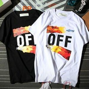 人気 新作オフホワイト/Off-White 個性なTシャツ 半袖 アウター 男女兼用