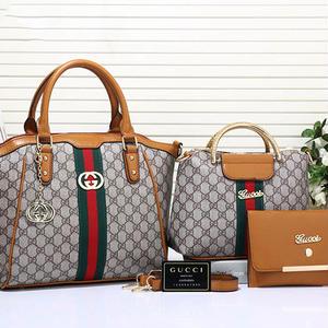 3点セット!勧め美品♥グッチ Gucci ハンドバッグ 鞄 カバン5色選!