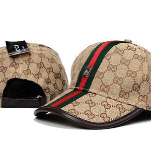 人気新品 Gucci グッチ 刺繍キャップ  帽子 男女兼用 日焼け止め