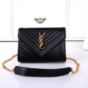 新入荷★ Yves Saint Laurent  ショルダーバッグ  レディース  イヴ・サンローランフリンジバッグ  チェーン鞄♥
