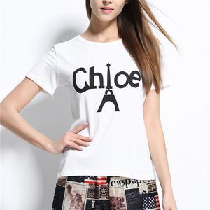 新入荷  chloe クロエ人気Tシャツ 半袖