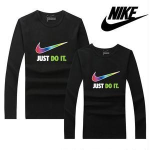 人気新品★ナイキ NIKE just do it Tシャツ  メンズ レディース ユニセックス 長袖  ロング丈Tシャツ  オリジナル
