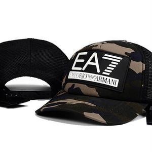 人気美品 Emporio Armani EA7アルマーニキャップ  帽子 男女兼用 日焼け止め 迷彩
