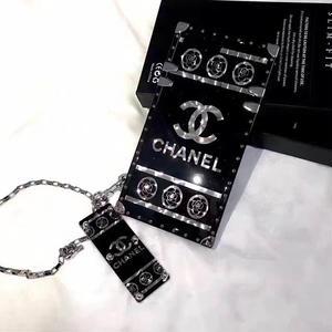 超人気新品★新発売★シャネル  Iphoneカバー/ケース ブラック 箱付き
