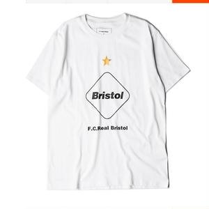人気★ナイキ FCRB Real Bristol ティーシャツ半袖 黒 白 男女兼用