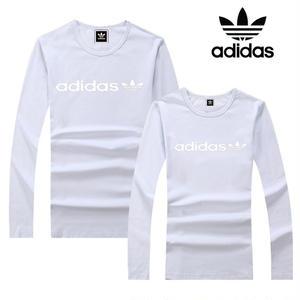 adidas /アディダス Tシャツ  文字ロゴ 長袖 ロンT   メンズ レディース 吸汗速乾