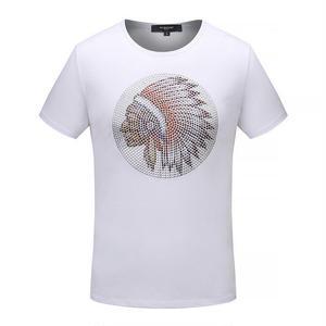 人気Givenchy ジバンシィ インディアン イラスト、キャラクター 半袖Tシャツ トップス  半袖  男女兼用