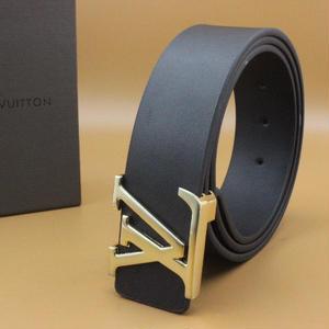 ルイヴィトン ベルト人気レザー 本革 ベルト メンズ ブラック