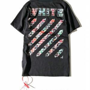 オフホワイト/Off-White人気新品 Tシャツ 半袖 アウター 男女兼用