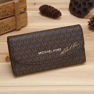 新入荷★MICHAEL KORS マイケルコース人気長財布 3つ折り財布 小銭入れさいふ ロゴ 新品未使用