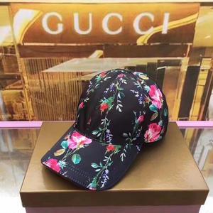 人気美品 Gucci グッチ花柄キャップ  帽子 男女兼用  高品質