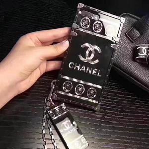 人気シャネル CHANEL  iPhoneカバー/ケース  アイフォンモバイルケース   iphone6 /6P/7/ 7P  専用カバー ブラック