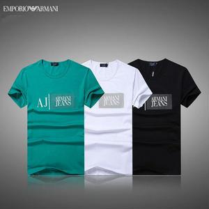 人気 AJ ARMANI JEANS アルマーニジーンズ 半袖Tシャツ ウェア  メンズ