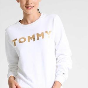 新品★人気トミーヒルフィガーロングスウェット 男女兼用トレーナー 長袖Tシャツ