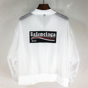 人気BALENCIAGA バレンシアガ ジャケット アウタースカジャン ホワイト男女兼用
