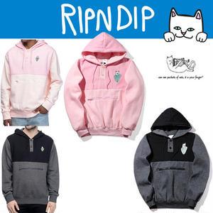 人気新品 RIPNDIP / リップンディップ 腹中ポケスウェット トレーナー  長袖 リップンディップパーカー メンズ レディース