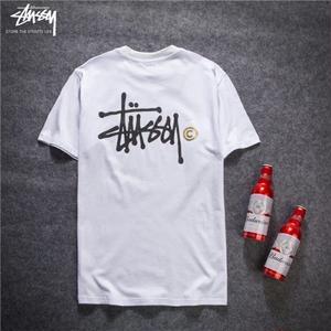 人気新作★ STUSSY ステューシーTシャツ 半袖  男女兼用  2色選!