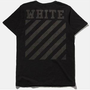 人気 オフホワイトTシャツ 半袖 アウター 男女兼用