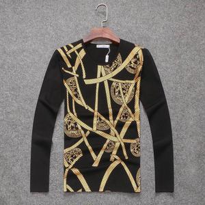 人気新品 ヴェルサーチ VERSACE Tシャツ 長袖 丸首  メンズ スウエット
