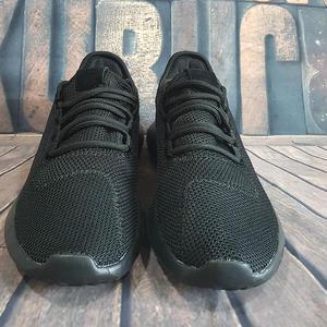 アディダス スニーカー adidas スリッポン 軽い靴 真っ黒シューズ