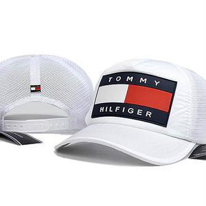 新入荷★トミーヒルフィガー刺繍 キャップ男女兼用  人気新品帽子