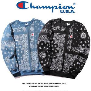 Champion チャンピオン トレーナー メンズ 裏起毛  保温性抜群なスウェットトレーナー パーカー