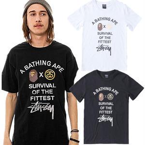 2色選!ステューシー/stussy人気Tシャツ 半袖テイーシャツ 男女兼用 新品