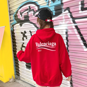 2017年人気新品 BALENCIAGA  バレンシアガパーカー 長袖 アウター 男女兼用 秋冬美品!
