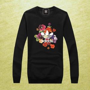 人気★adidas アディダス花柄Tシャツ  メンズ レディース ユニセックス 長袖  ロングTシャツ  オリジナル